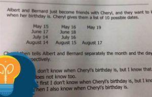 El cumpleaños de cheryl